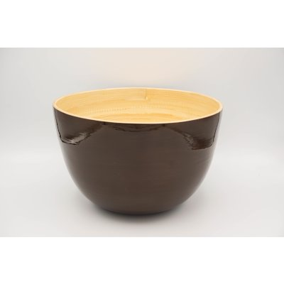 bamboo bowl brown
