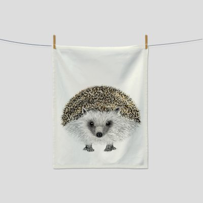 kitchen towel hedgehog