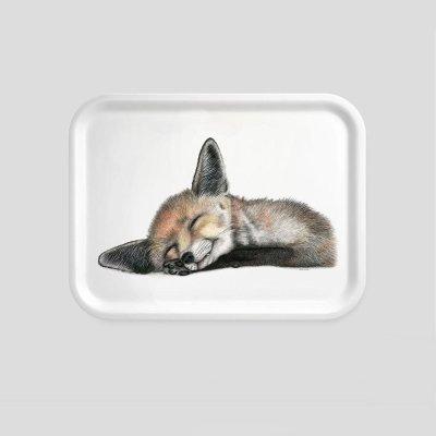 tray fox beech wood melamine