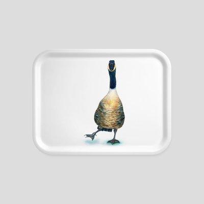 tray goose beech wood melamine