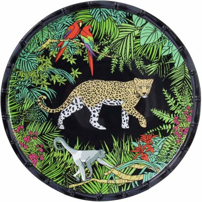 Teller groß Dschungel