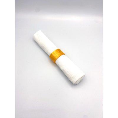 napkin ring acrylic glass orange