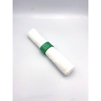 serviettenring acrylglas grün
