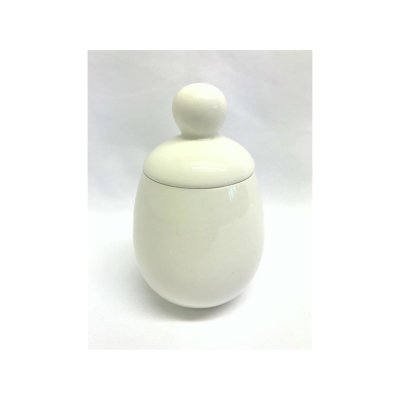 Egg coddler big white