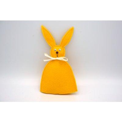 bunny egg cozy sunny yellow