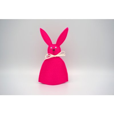 Bunny egg cozy Pink