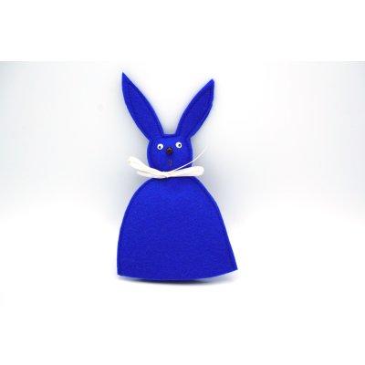 Häschen Eierwärmer königsblau