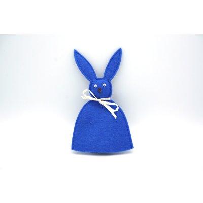 bunny egg cozy blue