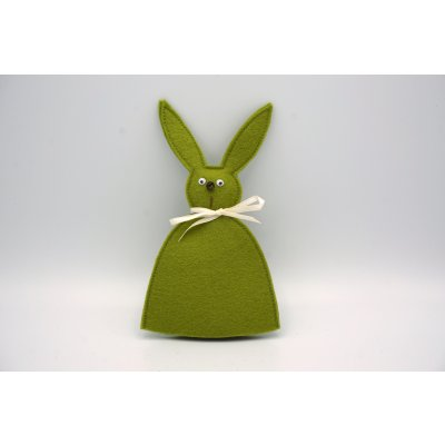 bunny egg cozy forest green
