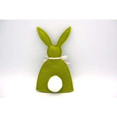 Bunny egg cozy Poison green