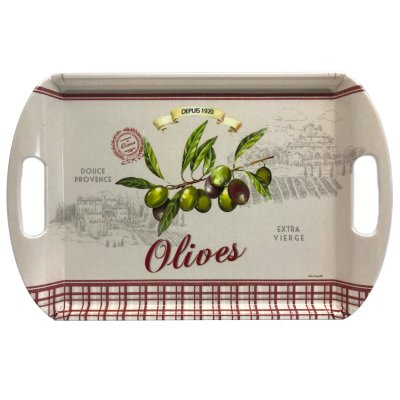 Tablett Olives mit Griffen