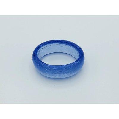 Glass Napkin ring Azure