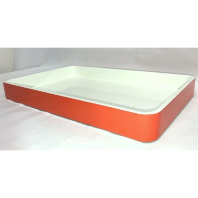 Lacquer tablet Orange white