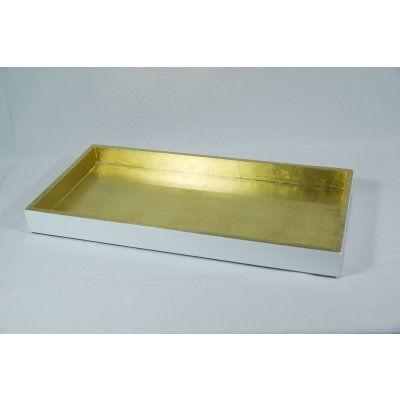 Lacquered Tablet impact metal gold/white