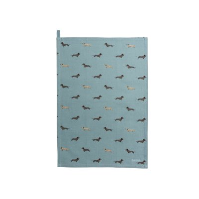 Tea Towel Dachshund