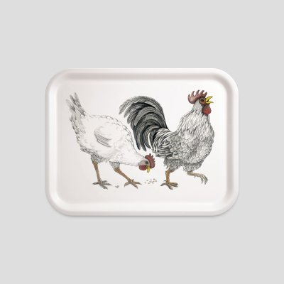 tray chicken beech wood melamine
