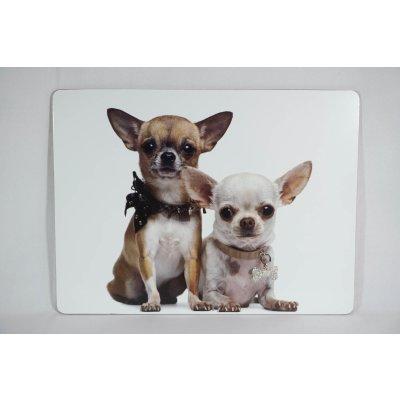 Cork Placemats Chihuahua Set of 4