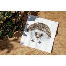 Tissue napkins hedgehog