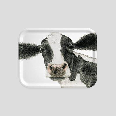 tray cow beech wood melamine